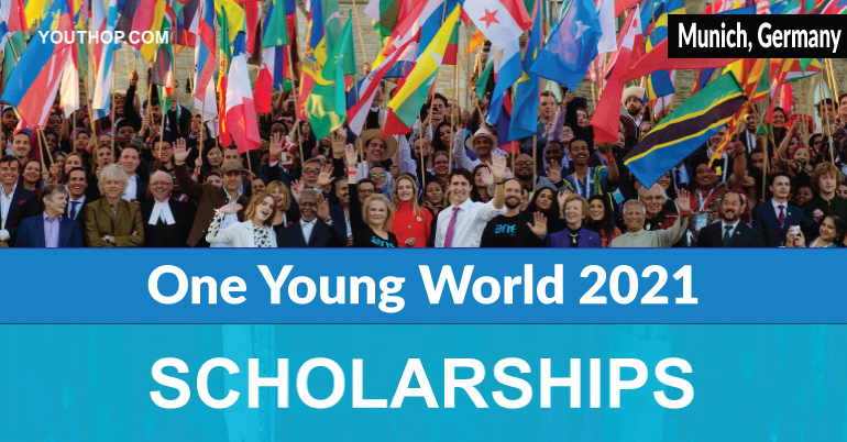 Scholarships for One Young World 2021