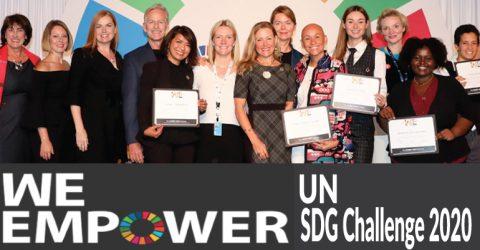The WE Empower UN SDG Challenge 2020 in New York (Prize Money $20,000)