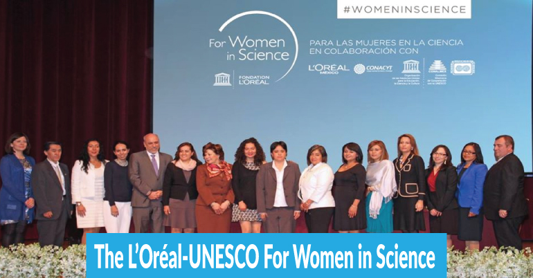 The L'Oréal-UNESCO For Women in Science