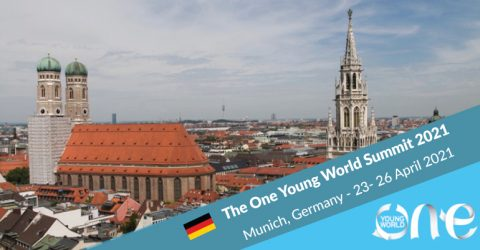 The One Young World Summit 2021 in Munich, Germany
