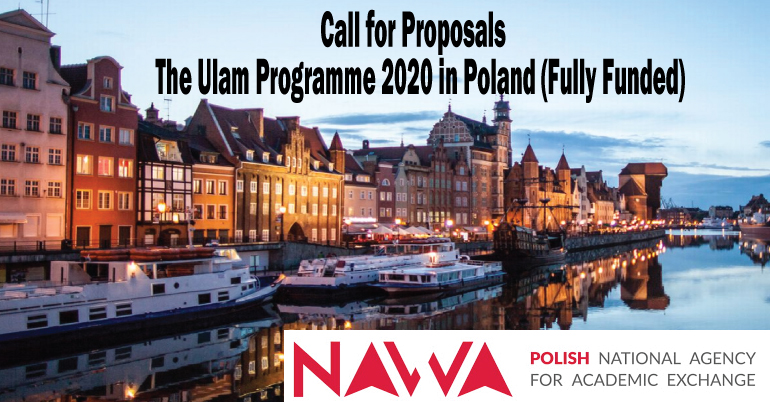 The Ulam Programme 2020 in Poland (Fully Funded)