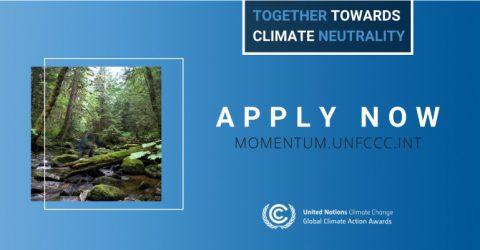 UN Global Climate Action Award 2020 (Win a trip to Scotland)