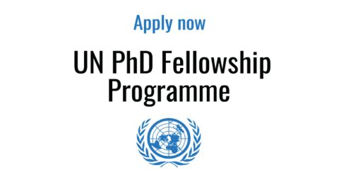 Apply now: UN Visiting PhD Fellowship Programme 2020 in Finland