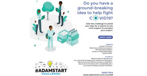 AdamStart COVID-19 Challenge 2020