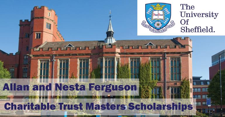 Charitable Trust Masters Scholarships