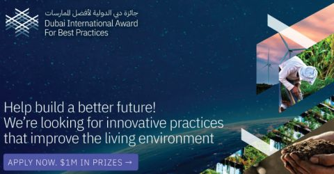 12th Dubai International Best Practices Award for Sustainable Development (US$1M Prizes)
