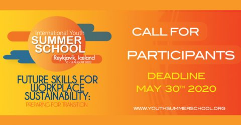 International Youth Summer School 2020 in Reykjavik, Iceland: Call for Participants