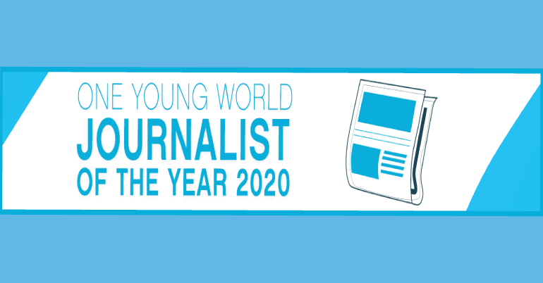 journalist of the year award one young award