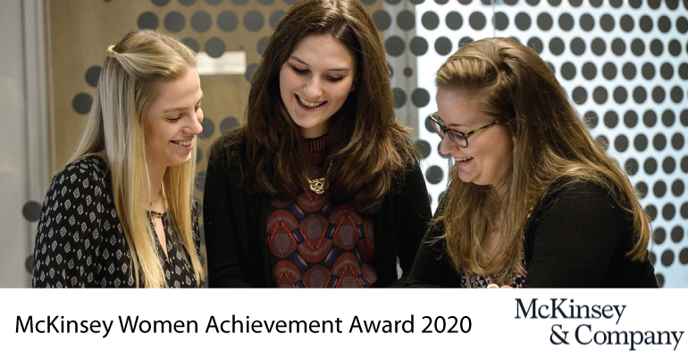 McKinsey Women Achievement Award 2020