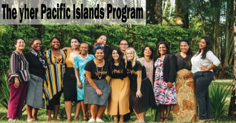 yher Pacific Islands Program 2020 for Female Entrepreneurs