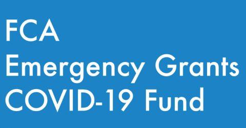 FCA Emergency Grants COVID-19 Fund