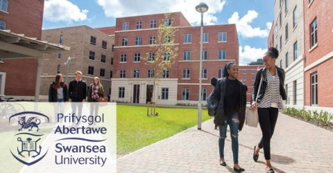 Fully Funded Research Scholarships at Swansea University in UK