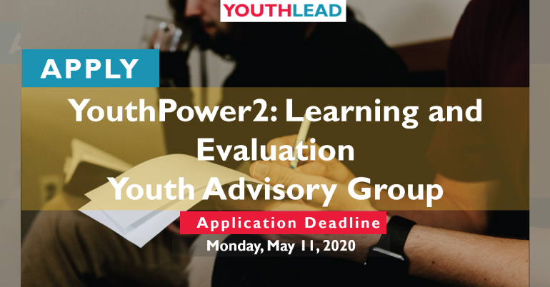 Join the YouthPower Youth Advisory Group