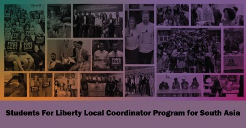 Students For Liberty Local Coordinator Program for South Asia (Fully Funded)