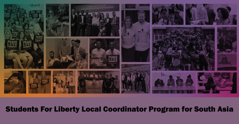 Students For Liberty Local Coordinator Program for South Asia