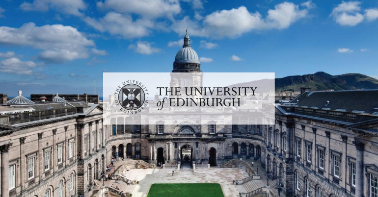 Minto Scholarship at University of Edinburgh