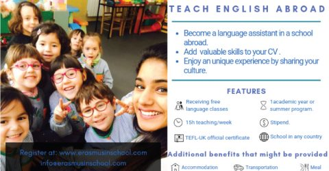 Teach English In Spain- Erasmus In School