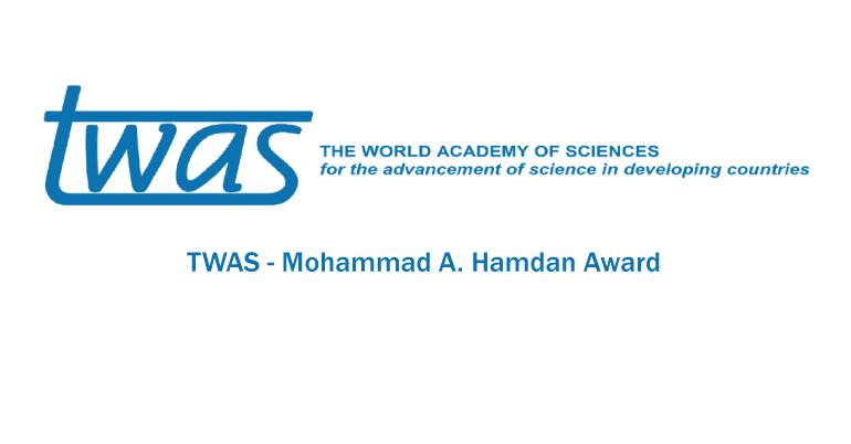TWAS - Mohammad A. Hamdan Award