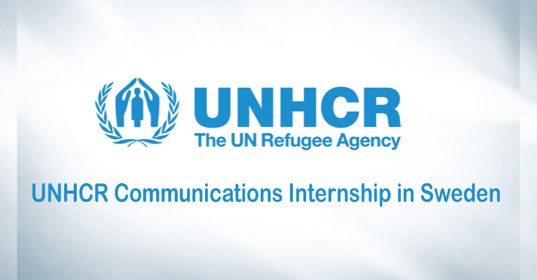 UNHCR Communications Internship in Sweden