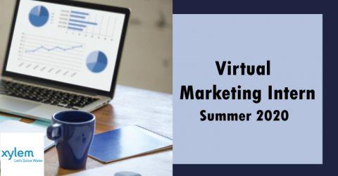 Xylem Virtual Marketing Intern – Summer 2020