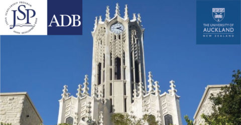 Asian Development Bank – Japan Scholarship Program at University of Auckland 2021