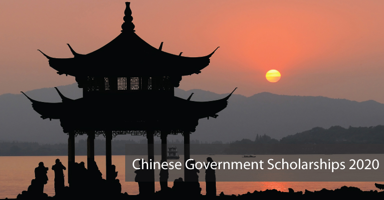 Chinese Government Scholarships 2020