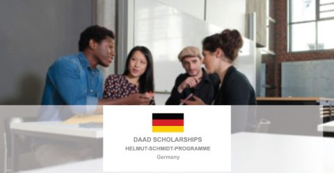 DAAD Helmut-Schmidt-Programme 2021 (Master's Scholarships for Public Policy and Good Governance – PPGG)