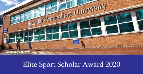 Cardiff Metropolitan University Elite Sport Scholar Award 2020