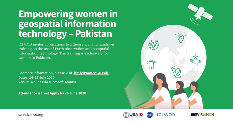 Empowering Women in Geospatial Information Technology – Pakistan