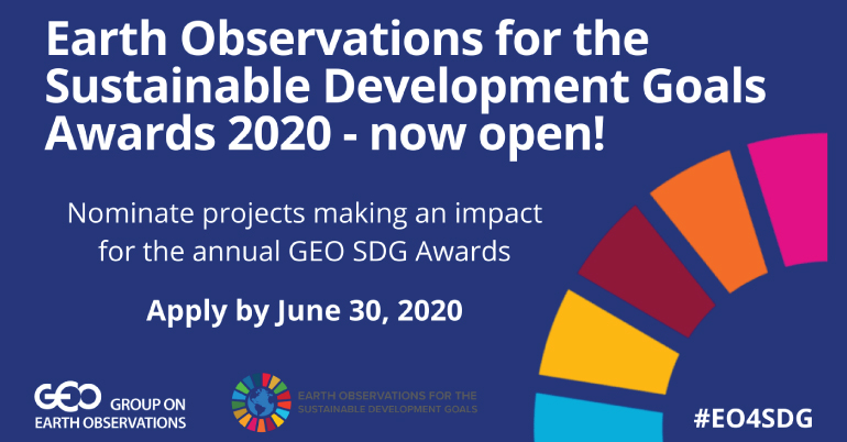 Group on Earth Observations Sustainable Development Goals (GEO SDG) Awards