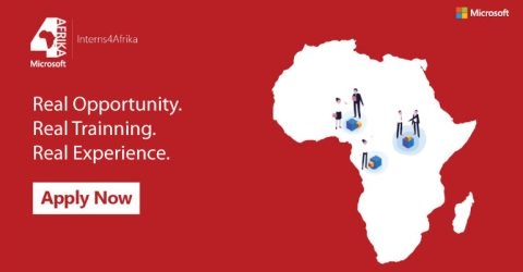 Microsoft Interns 4Afrika Program 2020 in South Africa