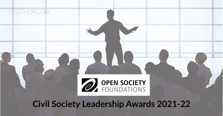 open society foundation's civil society leadership awards