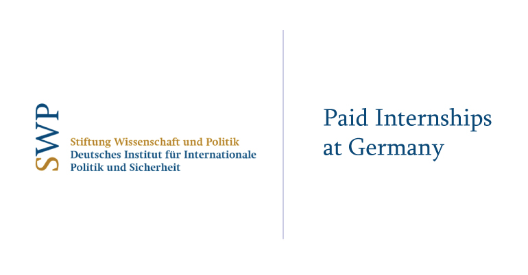 Paid Internships at German Institute for International and Security Affairs (SWP)