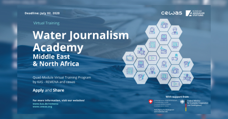 Water Journalism Academy 2020