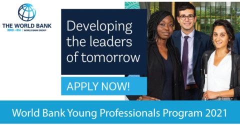 World Bank Young Professionals Program 2021