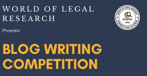 Blog Writing Competition by World of Legal Research