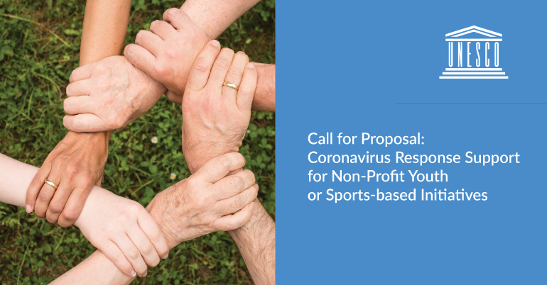 Call for Proposal: Coronavirus Response Support for Non-Profit Youth or Sports-based Initiatives