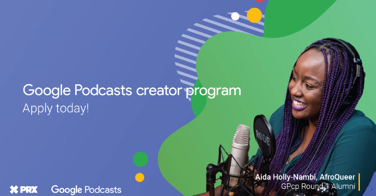 Google Podcasts Creator Program 2020