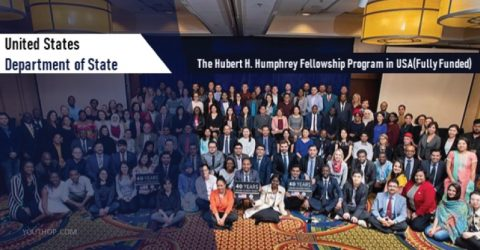 The Hubert H. Humphrey Fellowship Program 2020 in USA