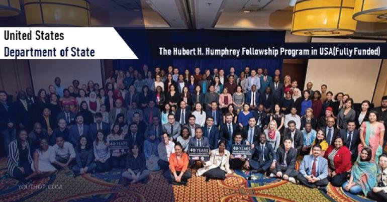 The Hubert H. Humphrey Fellowship Program 2020