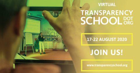 The Virtual Transparency School 2020