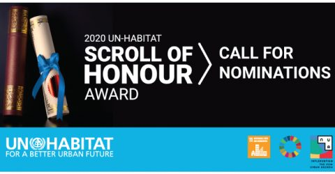 Call for Nominations: UN-Habitat Scroll of Honour Award 2020