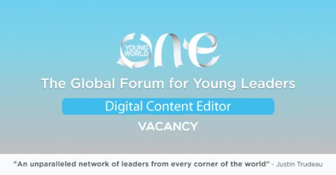 Vacancy at One young World: Digital Content Editor