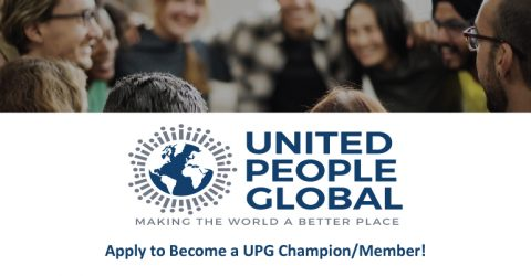 Call for Applications: Apply to Become a UPG Champion/Member!