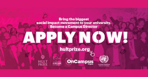 Become a Hult Prize 2020/2021 Campus Director