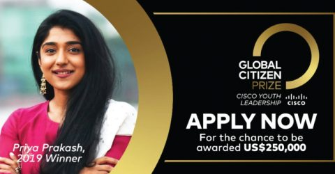 Global Citizen Prize: Cisco Youth Leadership Award 2020