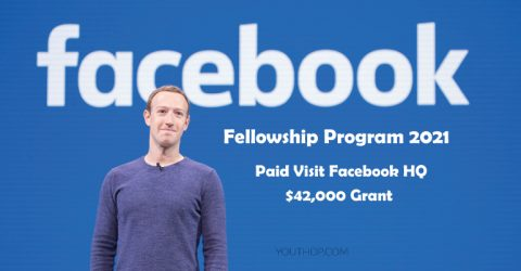 Facebook Fellowship Program 2021 (Receive $42K Grant & Visit Facebook HQ)