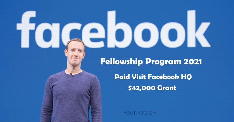 Facebook Fellowship Program 2021