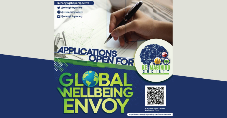 Global Wellbeing Envoy: Call for Applications