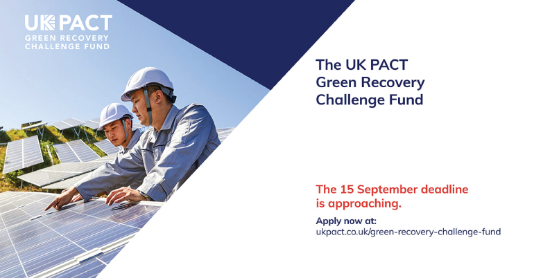 Green Recovery Challenge Fund by UK Pact